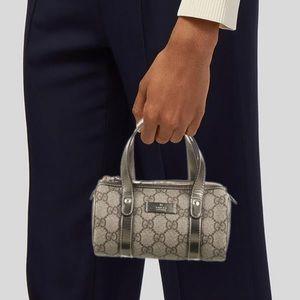 Gucci GG Mini Supreme Joy Boston Bag